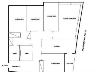 Piso en venta en Oliva de 123  m²