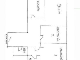 Piso en venta en Oliva de 84  m²