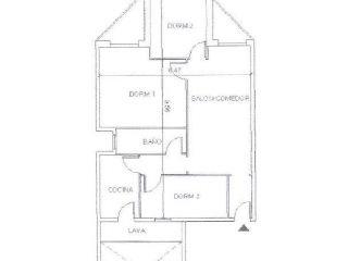 Piso en venta en Badalona de 59  m²