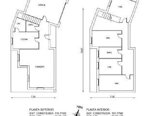 Chalet en venta en Bescano de 213  m²