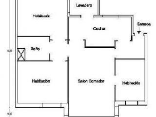 Piso en venta en Vic de 79  m²