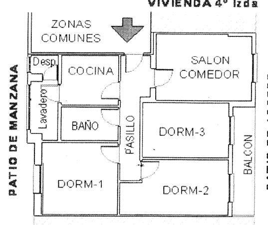 Vivienda en venta en c. don quijote..., Socuellamos, Ciudad Real