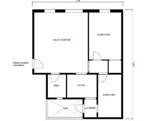 Piso en venta en Granollers de 69  m²