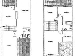 Unifamiliar en venta en Burguillos de 120  m²