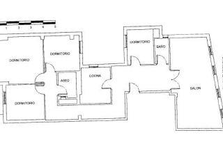 Atico en venta en Plasencia de 126  m²