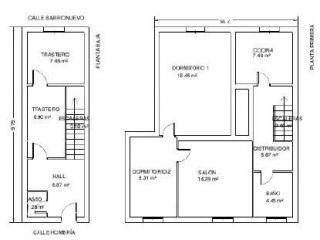 Atico en venta en Autol de 105  m²