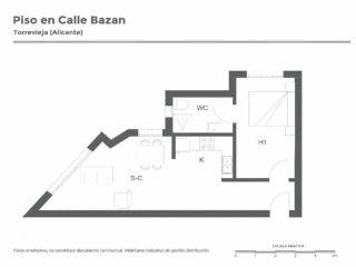 Piso Calle Bazan, Torrevieja 12