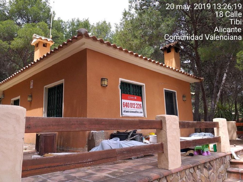 Casa de banco en Tibi en venta, 01400485 - Altamira Inmuebles