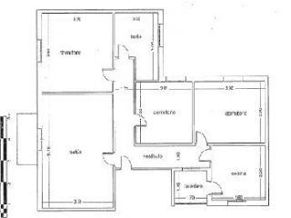Atico en venta en Mengibar de 94  m²