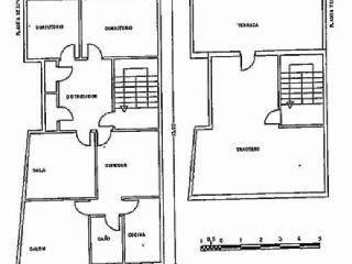 Atico en venta en Bailen de 136  m²