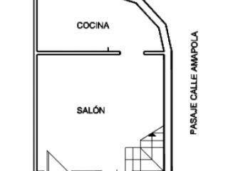 Unifamiliar en venta en Olvera de 60  m²