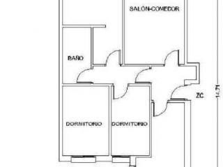Unifamiliar en venta en Gibraleon de 87  m²
