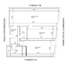 Piso en venta en Fuente Alamo de 82  m²