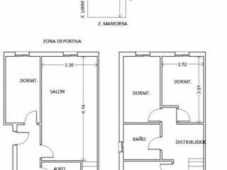 Piso en venta en Alcalá La Real de 106  m²