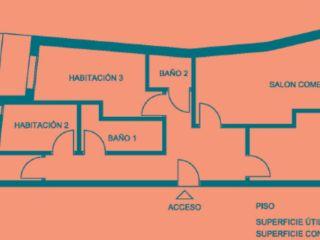 Piso en venta en Ribera D'urgellet de 76  m²