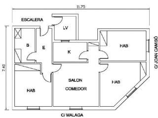 Piso en venta en Sant Feliu De Guixols de 63  m²